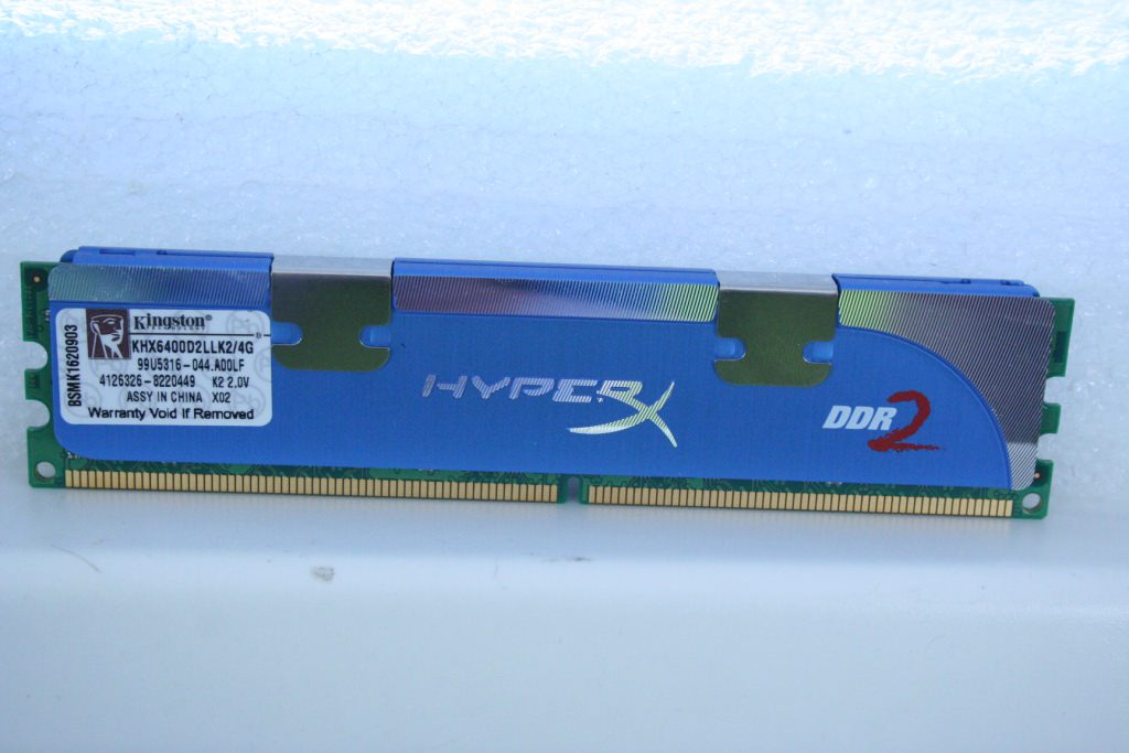 Kingston HyperX DDR2-800 - дважды два четыре