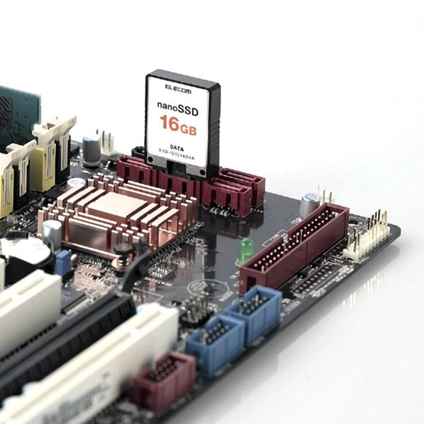 Elecom анонсирует SSD весом 8 граммов