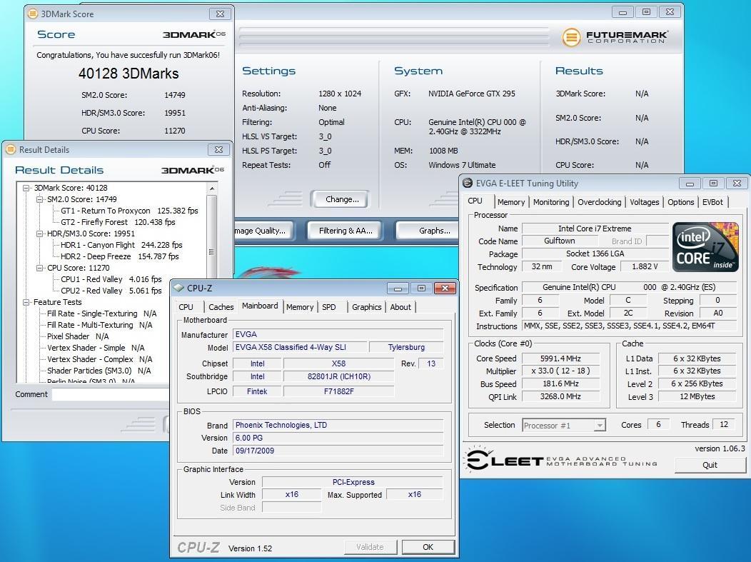 6-и Яденный Core i9 на частоте 6300+