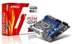 MSI P55M-GD45 – первая mATX плата на P55