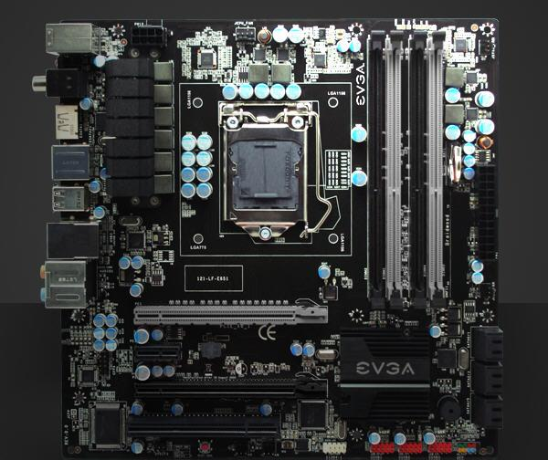 Модельный ряд материнских плат на базе чипсета Intel P55 от EVGA