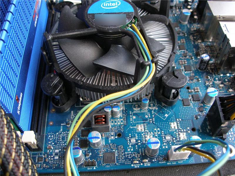Тестирование Intel Core i5 750 и материнской платы  Intel DP55WG