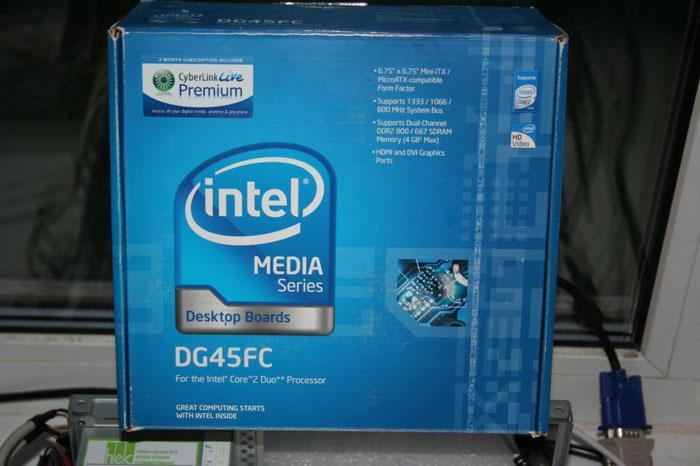 Мини-тестирование miniITX материнской платы от Intel - DG45FC