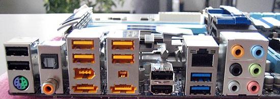 Обновленная материнская плата Gigabyte GA-P55A-UD4