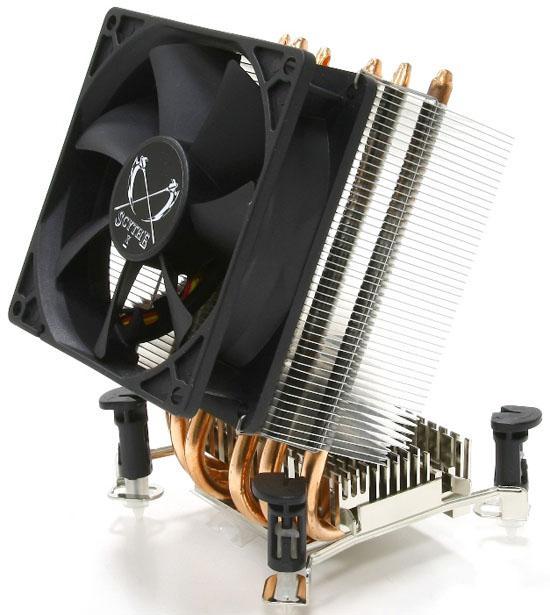 Scythe анонсирует два процессорных кулера Katana 3 типа А и типа I