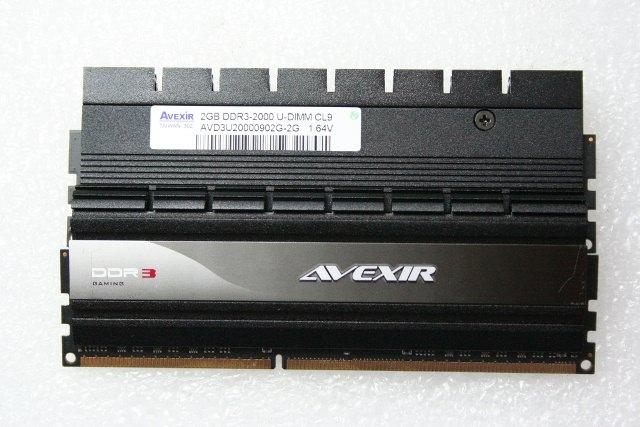 Обзор комплекта памяти Avexir Gaming series 2000 MHz CL9