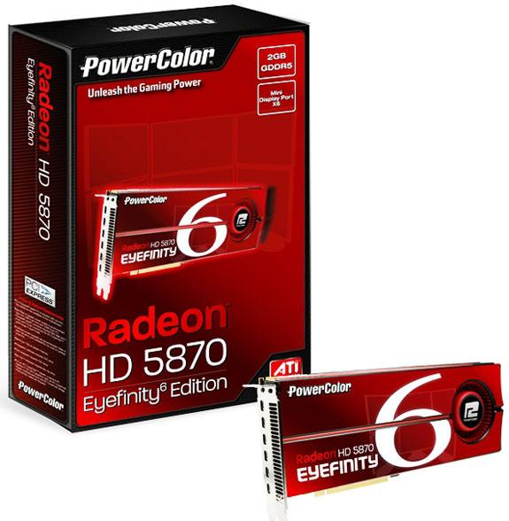 ATI Radeon HD 5870 Eyefinity 6 Edition – 6 мониторов без проблем