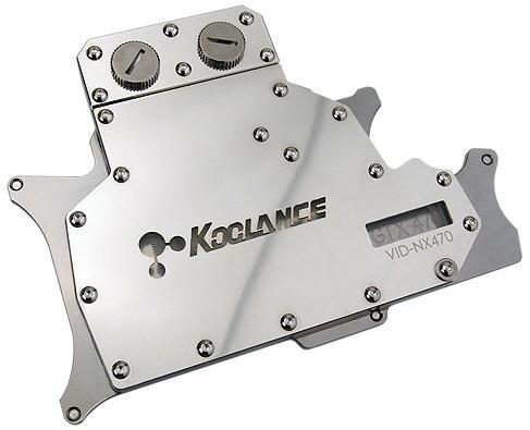 Koolance представила водоблоки для видеокарт NVIDIA GeForce GTX 400