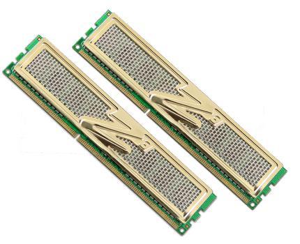 OCZ Technology анонсировала двухканальные комплекты оперативной памяти DDR3 типа серии Gold