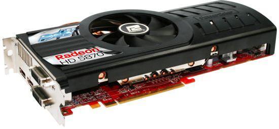 Powercolor анонсировала видеокарту HD5870 PCS++
