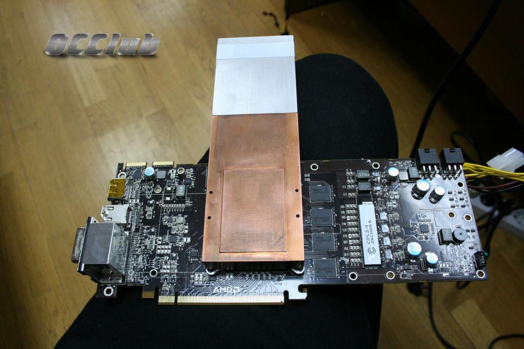 Sapphire Radeon HD5870 - экстрим -тест