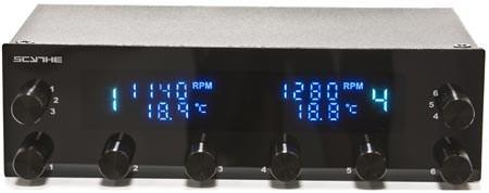 Scythe приступает к выпуску обновленной версии контроллеров вентиляторов Kaze Pro