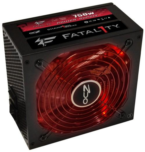 OCZ начала выпуск нового модульного блока питания Fatality 750W