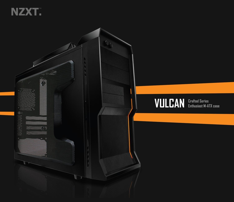 Компания NZXT представила миниатюрный корпус Vulcan
