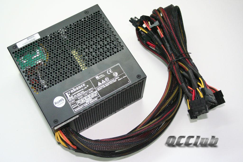 Обзор  двух блоков питания Enhance - ENP-1290GA 900W и ENP-3650N 500W