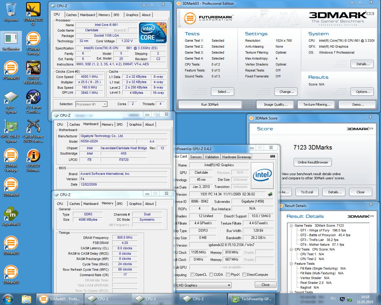 Gigabyte H55M-UD2H и Intel Core i5 661 - обзор платформы
