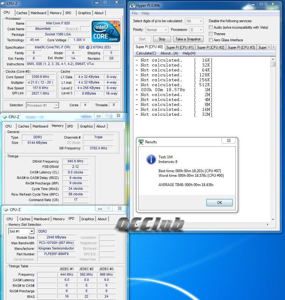 Kingmax DDR3-1333 - средний класс с хорошими задатками