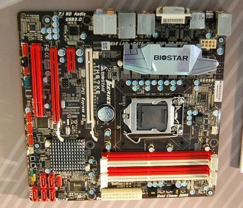 Системные платы на базе чипсета Intel P67 и H67 от Biostar представлены на Computex 2010