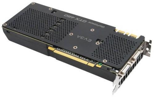 EVGA представила разогнанный вариант GeForce GTX 480 SuperClocked+