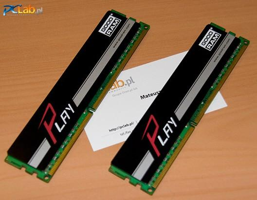 Wilk Elektronik представила модули оперативной памяти DDR3 серии GOODRAM Play