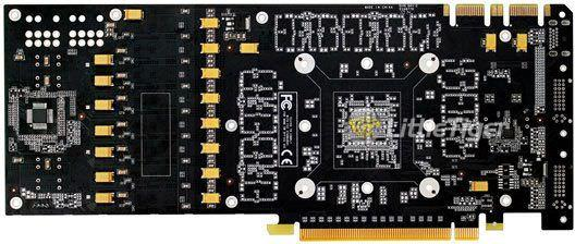 В интернете появились фотографии печатной платы видеокарты NVIDIA GeForce GTX 485