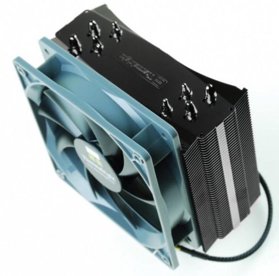 Thermalright начинает выпуск усовершенствованной версии процессорного кулера Thermalright MUX-120 Black