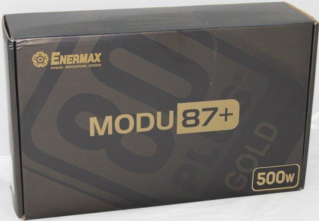 "Обзор Enermax MODU87+ 500W - ""золото партии"" в наших руках"