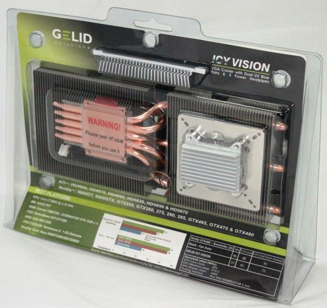 Обзор GELID ICY VISION - холодный взгляд на видеокарту