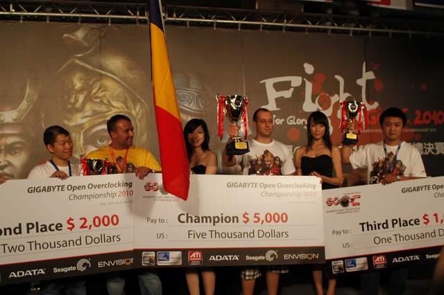 Румын matose – победитель GOOC 2010
