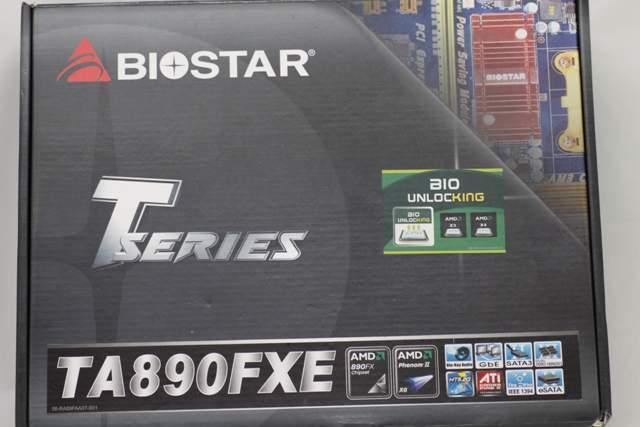 Обзор Biostar TA890FXE - красное на черном