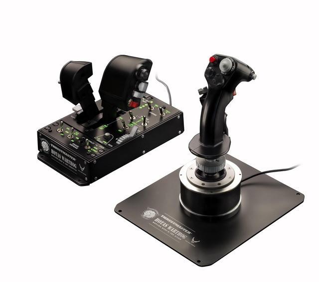 Компания Thrustmaster, задающая мировые стандарты в производстве джойстиков, берет новую высоту!