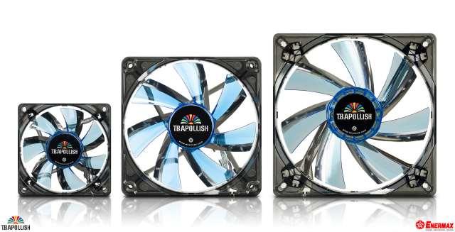 Три новые серии LED-вентиляторов от Enermax
