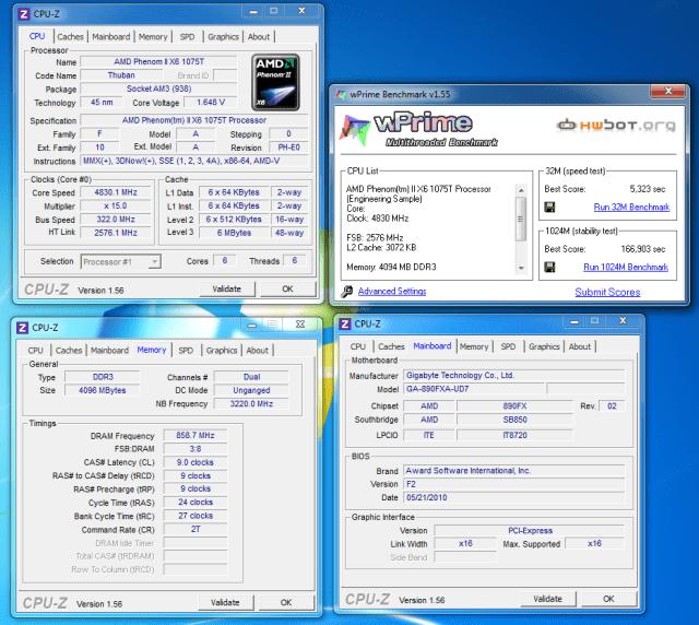 Шестеро под одной крышкой - небольшой тест процессора AMD Phenom II X6 1075T