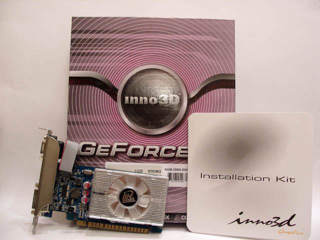 Младший родственник Fermi. Обзор Inno3D GeForce GT430.