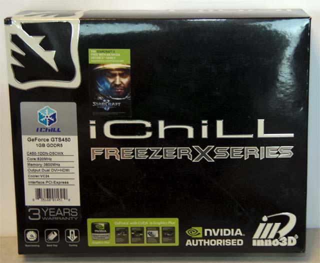 Обзор Inno3D GTS450 iChill Freezer Edition