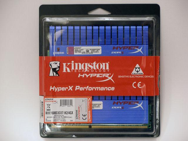 """Точка Отсчета"" – обзор Kingston HyperX KHX1600C8D3T1K2/4GX"