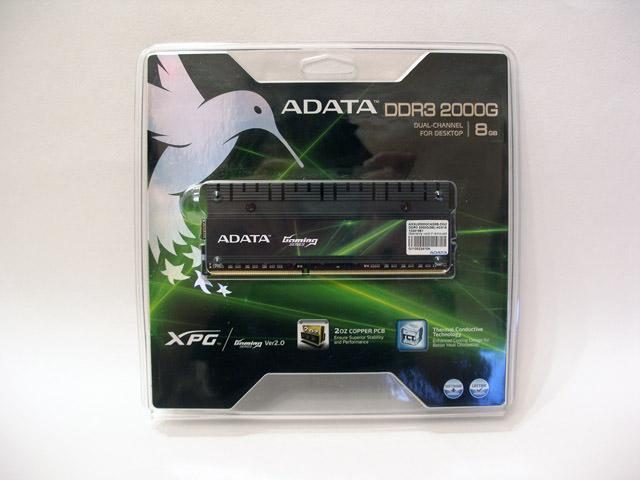 Всё и сразу! Обзор оперативной памяти ADATA Gaming Series v2.0 8Gb AX3U2000GC4G9B-DG2