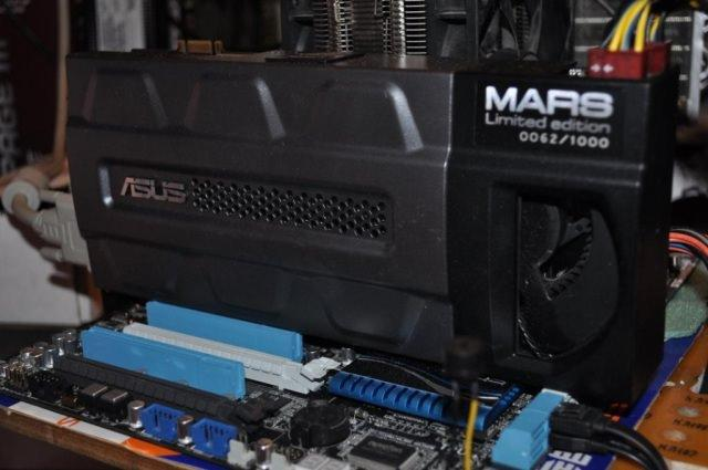 Видеокарта Asus MARS GeForce GTX 295 - короткий отчет о разгоне