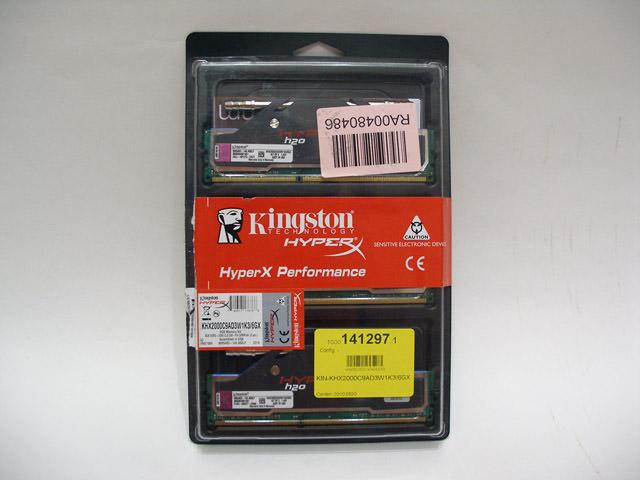 Обзор комплекта оперативной памяти  Kingston HyperX KHX2000C9AD3W1K3/6GX. Когда хочется странного.