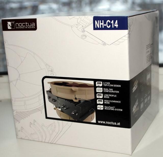Noctua NH-C14 - эффективное охлаждение, эффектный внешний вид