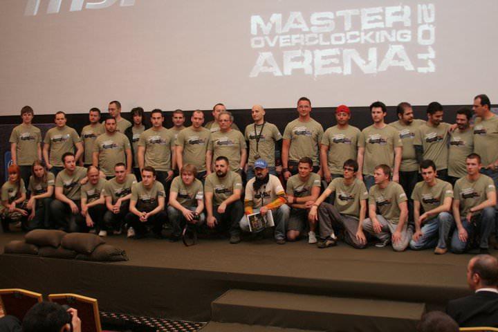 Россияне завоевали бронзу на европейском финале MSI Master Overclocking Arena 2011