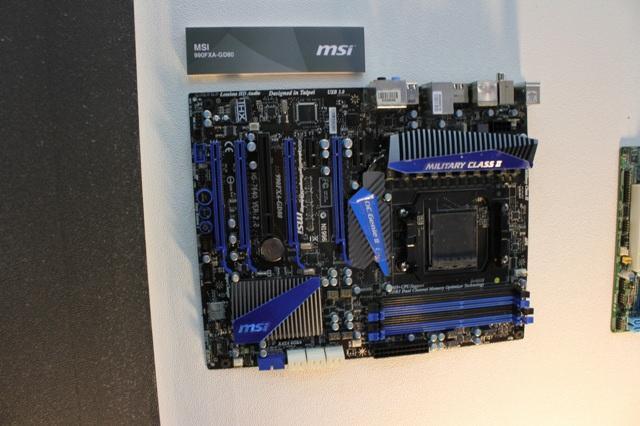 Computex 2011 - Новые модели материнских плат на чипсете AMD 990FX