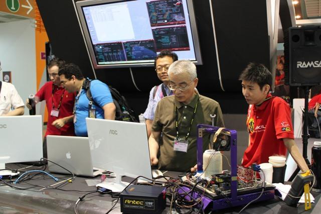 Computex 2011 - Экстремальный разгон на стенде G.Skill