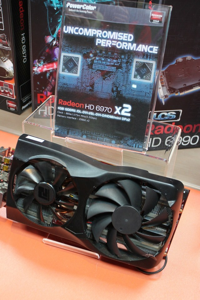 Computex 2011 - Новинки со стенда PowerColor - видеокарта AMD Radeon HD 6970X2