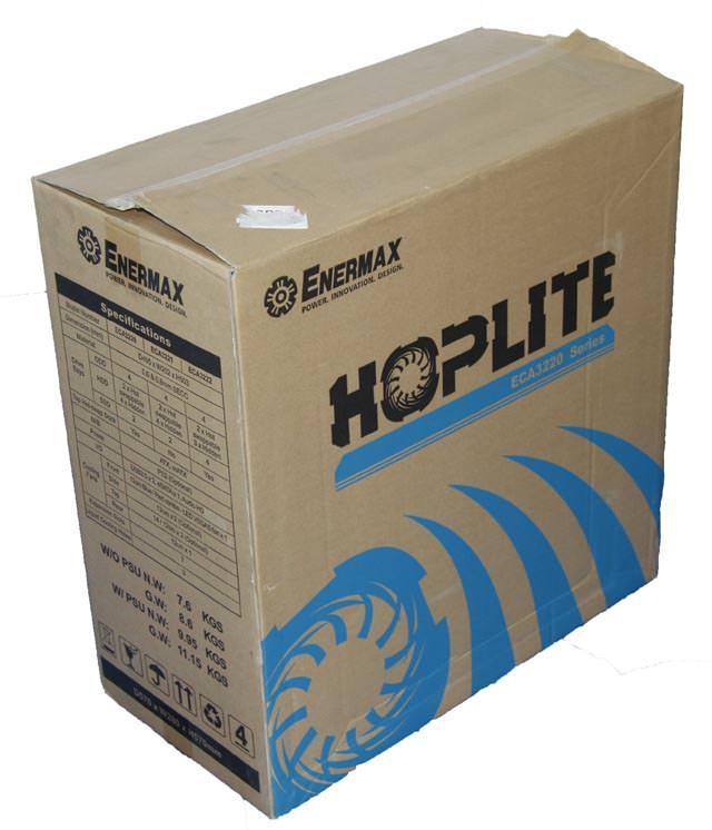 Обзор корпуса Enermax Hoplite
