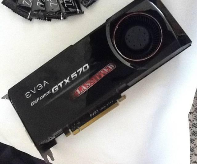 Computex 2011 - EVGA демонстрирует видеокарту GeForce GTX570 Classified