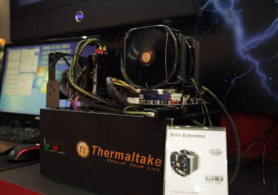 Computex 2011 - Thermaltake Frio Extreme - еще один суперкулер