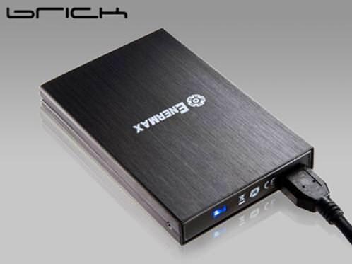 Enermax начала продажи корпуса Brick EB208U3 с интерфейсом USB 3.0 для 2,5-дюймовых накопителей
