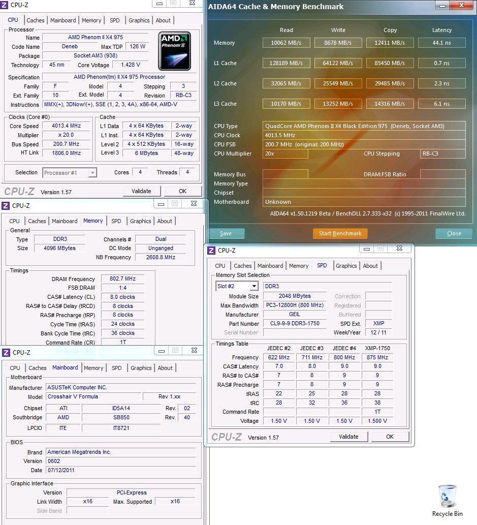 Обзор материнской платы ASUS Crosshair V Formula. Гонка за 7 ГГц.