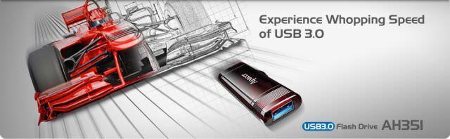 Apacer представляет новый USB 3.0 флеш-накопитель AH351